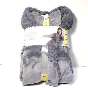 New Carole Hochman Women's Plush Wrap Robe Sz S